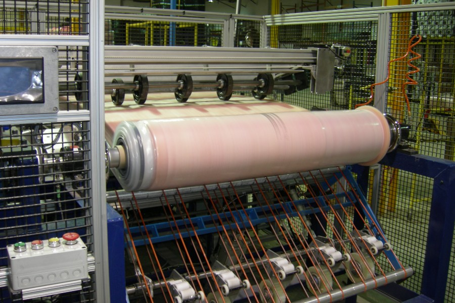 Factory Automation Solution - Automated Fiberglass Laminating Machine
