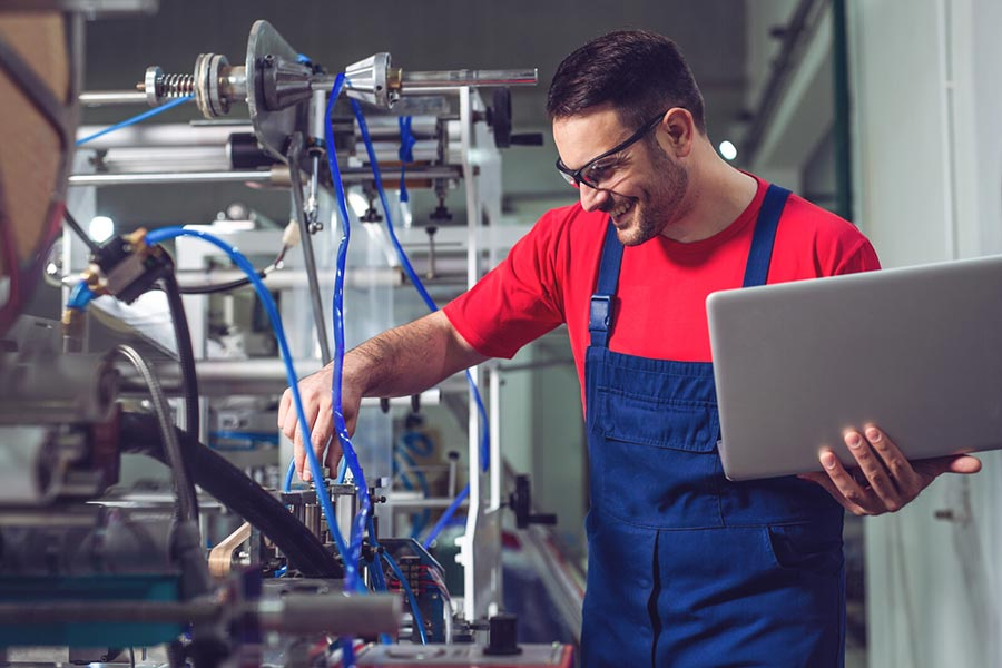 Automation maintenance service for pneumatics and hydraulics