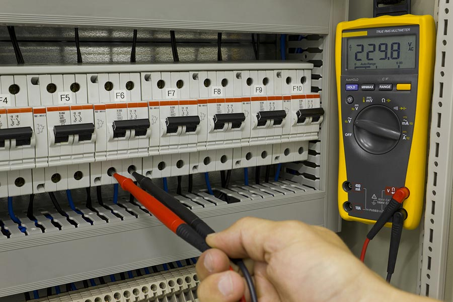 Electrical and automation controls maintenance