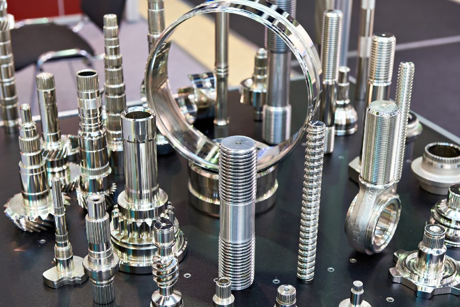 CNC machining for industrial automation