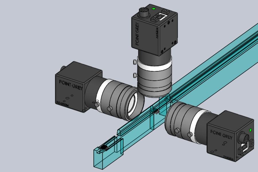 Vision Systems Integration - Gennum 3up Camera