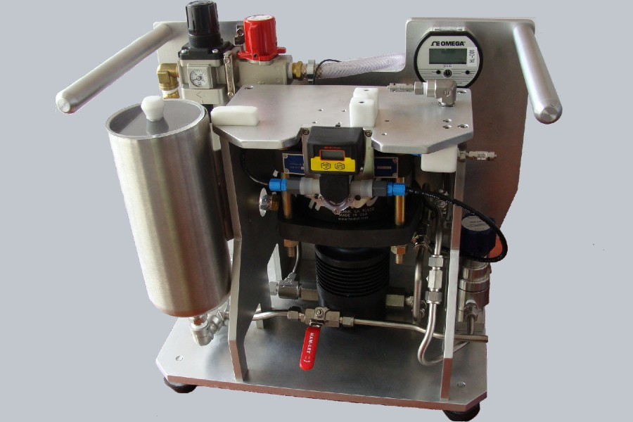 Pressure and flow testing equipment