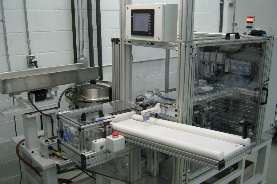 Factory Automation Solution - Automated Syringe Machine