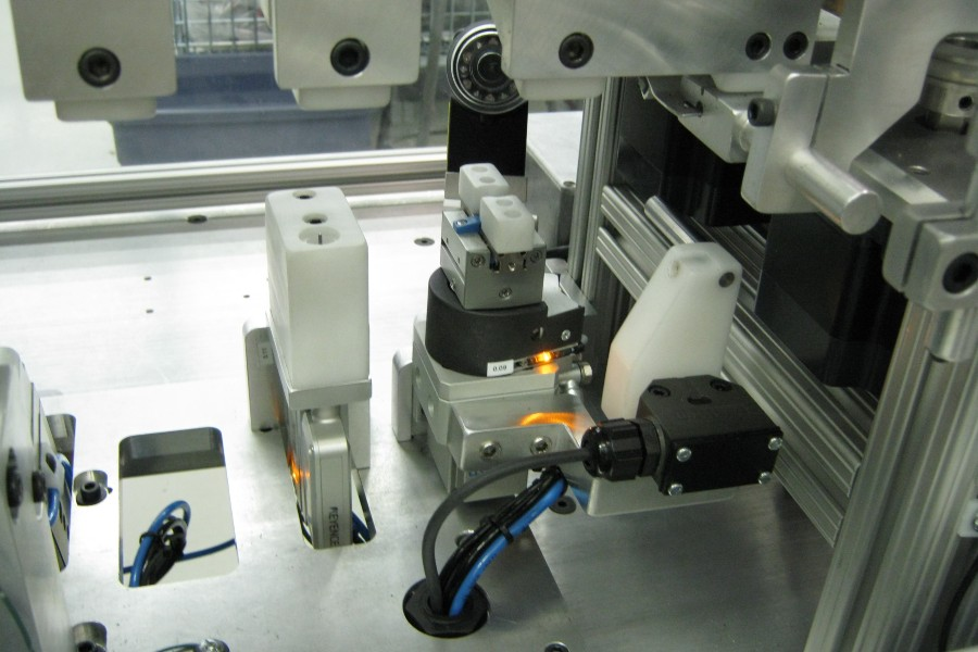 Factory Automation Solution - Syringe Automated Machine